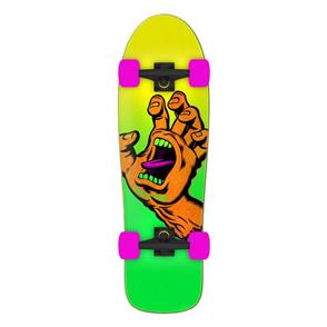 Santa Cruz Missing Hand Skate Cruzer Complete  9.7 x 31.7