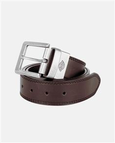 Dickies 40Mm Leather Belt, Black Brown