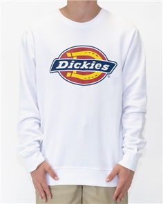 Dickies H.S CLASSIC CREW NECK SWEATER, WHITE