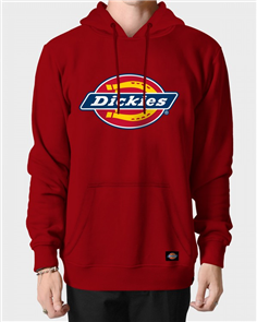 Dickies H.S CLASSIC POP OVER HOODY, ENGLISH RED