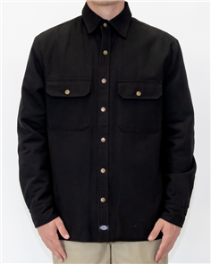 Dickies BRYCE QUILTED LINED SHIRT JACKET, Black