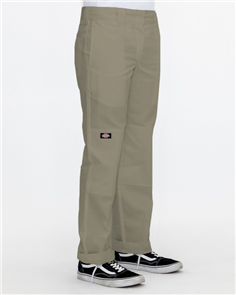 Dickies SLIM STRAIGHT DOUBLE KNEE PANT, Khaki