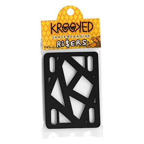 KROOKED RISER BLACK 1/4IN