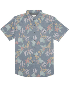 Vissla Moorea Short Sleeve Mens Shirt, DNL