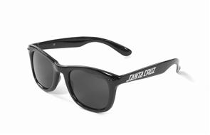 Santa Cruz Strip Shades Sunglasses, Black