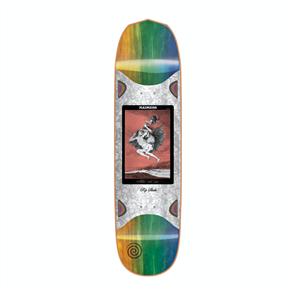 Madness Alla Slick Skate Deck, Blue/Orange