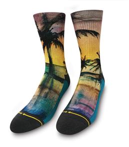 Merge4 Maia Negre - Liquid Sunset Mens Socks