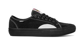 Vans AV Classic Pro Shoes, Black Black White