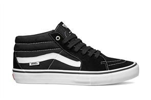 Vans Sk8-Mid Pro Black/White