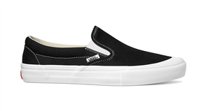 Vans Slip-On Pro (Toe-Cap) Shoes, Black White