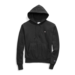 Champion REVERSE WEAVE PULLOVER HOOD, BLACK