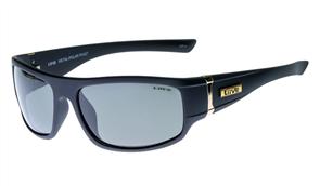 Liive Metal - Polarized Sunglasses, Matt Black