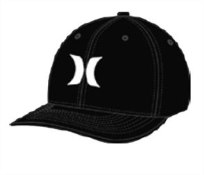 Hurley Dri-Fit One & Only Hat, Black Wash