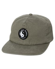 T&C OG WASHED SNAPBACK CAP, MILITARY