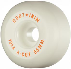 Mini Logo Mini Logo A.W.O.L 55mm  80a Wheel, White