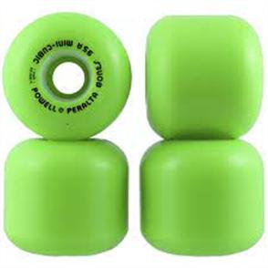 Powell Peralta Mini Cubics Wheels, Green
