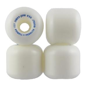 Powell Peralta Mini Cubics Wheels, White