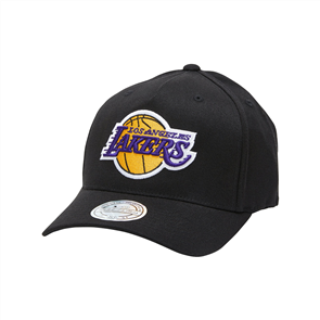 NBA THE BLACK/TEAM COLOUR LOGO 110 SNAPBACK, LA LAKERS