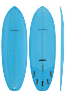 Modern Highline PU Short Board, Ice Blue Tint