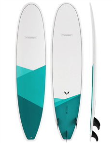 Modern Blackbird X1 Epoxy Long Board Sea Green