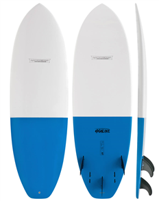 Modern Highline X1 Epoxy Tech Surfboard Tail Dip, Blue