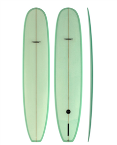 Modern Retro PU Tech Noserider Longboard, Coke Bottle Tint