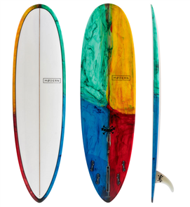 Modern Love Child PU  Egg Surfboard Kaleidoscope Tint 1