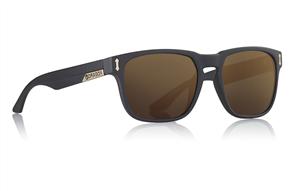 Dragon Monarch Sunglasses- Matte Black / Copper Ion