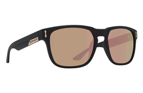 Dragon Monarch Sunnies, Matte Black / Rose Gold Ion