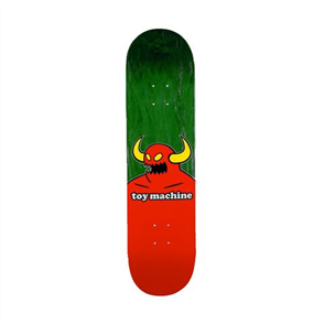"Toy Machine Monster Deck, Green, Size 8.25"""