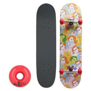 """Enjoi My Little Pony Complete Skateboard Soft Wheels, Multi, 7.625"""""""