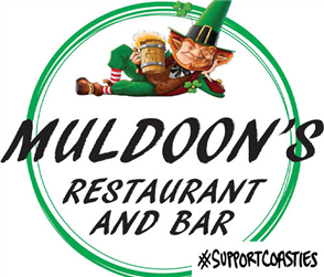 Support Coasties Muldoon's Irish Bar - Vouchers (+10% off your Drinks when you redeem!)