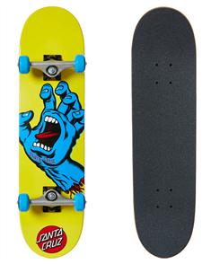 "Santa Cruz Screaming Hand Mini Skate Complete, 7.75"""