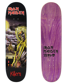 Zero Iron Maiden Killers LTD Edition Deck, 8'25