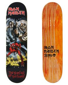Zero Iron Maiden No. of the Beast LTD Edition Deck, 8'0