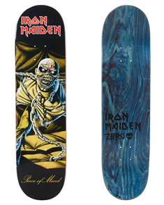 Zero Iron Maiden Piece of Mind LTD Edition Deck, 8.125""