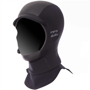 Billabong Furnace Carbon X 2mm Gbs Hood, Black