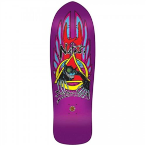 Santa Cruz Natas Evil Cat Metallic Purple Reissue, Purple Candy Metallic