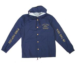 Salty Crew Vandal Snap Jacket, Navy
