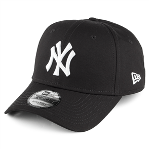 NewEra 9FORTY New York Yankees Cap, Black