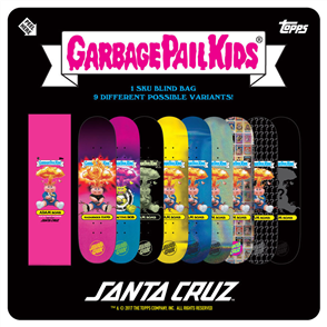 "Santa Cruz Garbage Pail Kids Team 31.8"" x 8.25"" Deck"