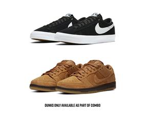 """Nike SB Ultimate Dunk Low """"Wheat"""" Combo"""