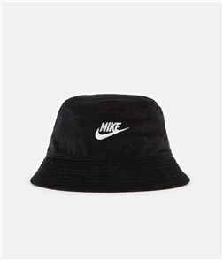 Nike Futura Corduroy Bucket Hat, Black/White
