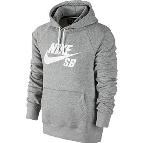 Nike SB Icon Pullover Hoodie, Grey