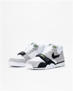 Nike SB AIR TRAINER I ISO MENS SHOE, MEDIUM GREY/BLACK-WHITECHLOROPHYLL