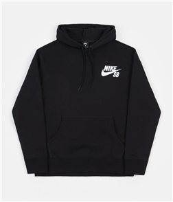 Nike SB ICON PO ESSENTIAL HOODIE, Black/White