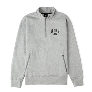 Nike SB MARCH RADNESS MOCKNECK FLEECE, DK GREY/BLK