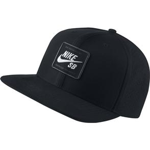 Nike SB Mens AeroBill Pro 2.0 Cap, Black/ White