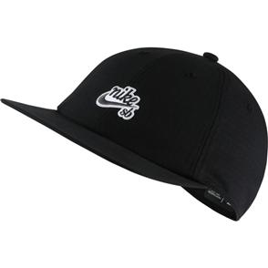 Nike SB Mens Heritage86 Skate Cap, BLACK/THUNDER GREY