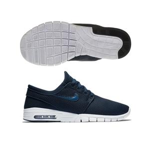 Nike Stefan Janoski Max Shoe, Obsidian Blue